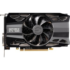 Видеокарта EVGA GeForce GTX 1660 XC Black Gaming 6GB GDDR5 06G-P4-1161-KR