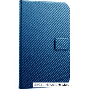 Чехол для планшета Cooler Master Carbon texture for Galaxy Note 8.0 Blue (C-STBF-CTN8-BB)
