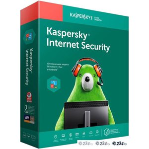 Антивирус Kaspersky Internet Security (1 год, 3 устройства, BOX)
