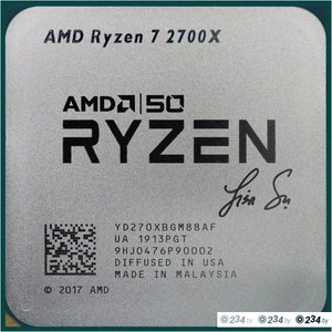 Процессор AMD Ryzen 7 2700X AMD50 Gold Edition
