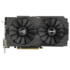 Видеокарта ASUS ROG Strix Radeon RX 570 Gaming OC Edition 4GB GDDR5