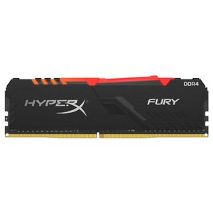 Оперативная память HyperX Fury RGB 16GB DDR4 PC4-25600 HX432C16FB3A/16