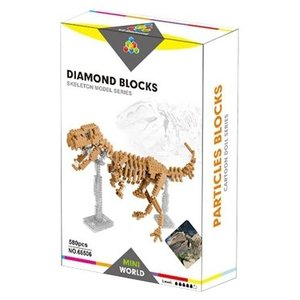 Конструктор YZ-Diamond 66506 Dinosaur Skeleton