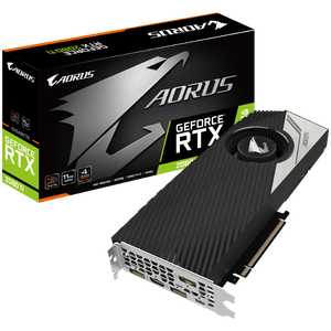 Видеокарта Gigabyte Aorus GeForce RTX 2080 Ti Turbo 11GB GDDR6 GV-N208TAORUS T-11GC