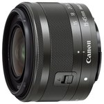 Объектив Canon EF-M 15-45mm f/3.5-6.3 IS STM Black