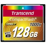Карта памяти Transcend 1000x CompactFlash Ultimate 128GB (TS128GCF1000)