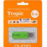 USB Flash QUMO Tropic 8Gb Green